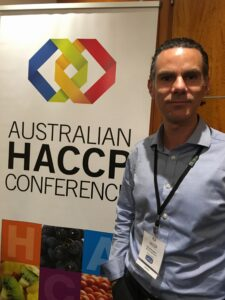 Richard @ 2015 Australian HACCP Conference -
