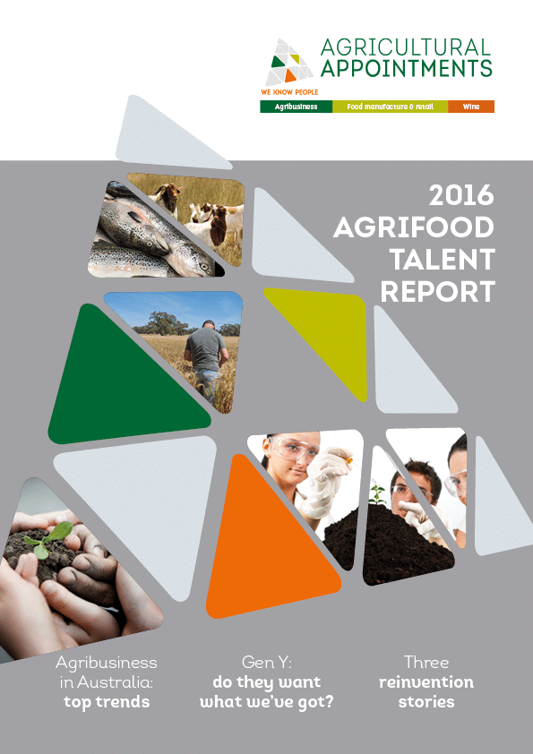 2016 Agrifood Talent Report just released – get your free copy today!